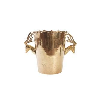 Rosenthal Netter Mid Century Brass Champagne/Ice Bucket
