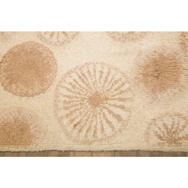 Rare and Decorative Cogolin Wool Carpet, France, 1970 For Sale - Image 6 of 11