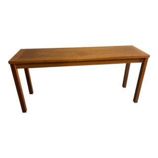 20th Century Danish Modern Interform Collection Teak Console Table For Sale