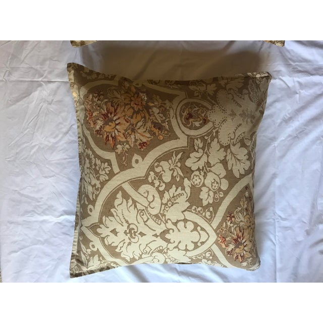 Pottery Barn Pillows - A Pair For Sale - Image 4 of 5