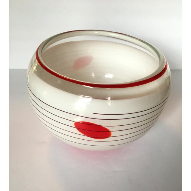 Mid-Century Blown Glass Bowl - Image 3 of 6