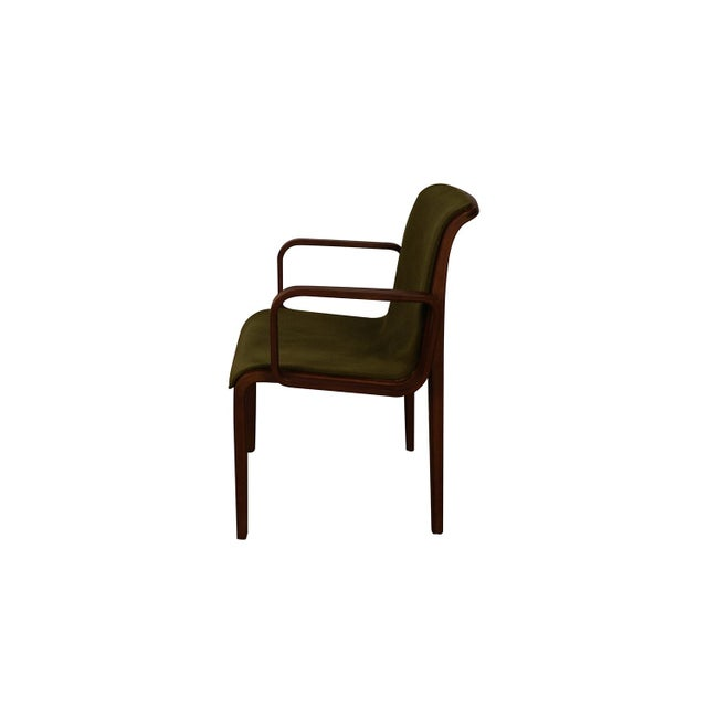 """Extraordinary Mid-Century Modern dining/accent chair Model 1305UO, designed by William """"Bill"""" Stephens for Knoll..."""