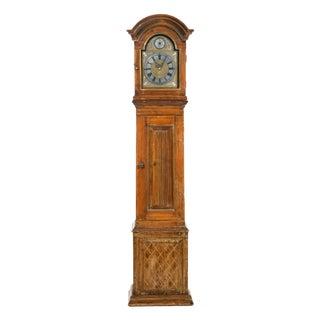 Pine Long Case Clock