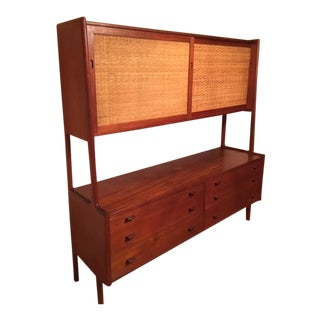 1950s Mid-Century Modern Hans J. Wegner for Illums Bolighus Teak Sideboard For Sale