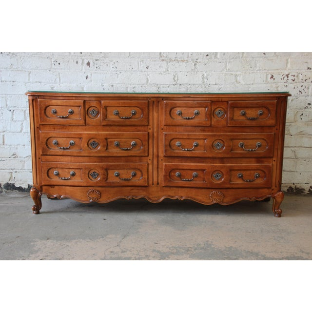 Pierre Deux French Country Double Dresser by Henredon For Sale - Image 11 of 11