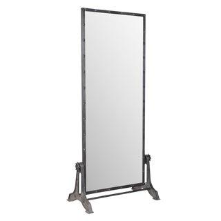 Gun Metal Standing Mirror For Sale