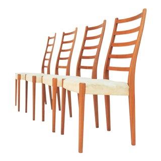 Mid Century Scandinavian Modern Svegards Markaryd Dining Chairs - Set of 4 For Sale