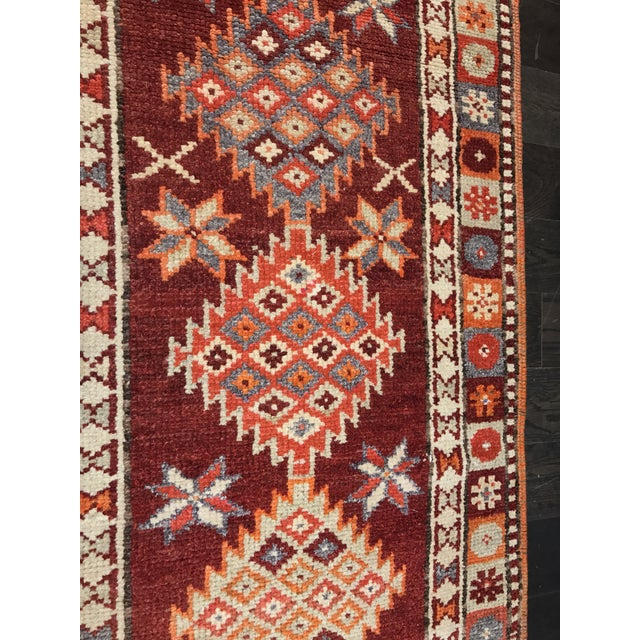 "Bellwether Rugs Vintage Turkish Oushak Runner - 2'9"" X 11'4"" - Image 6 of 11"