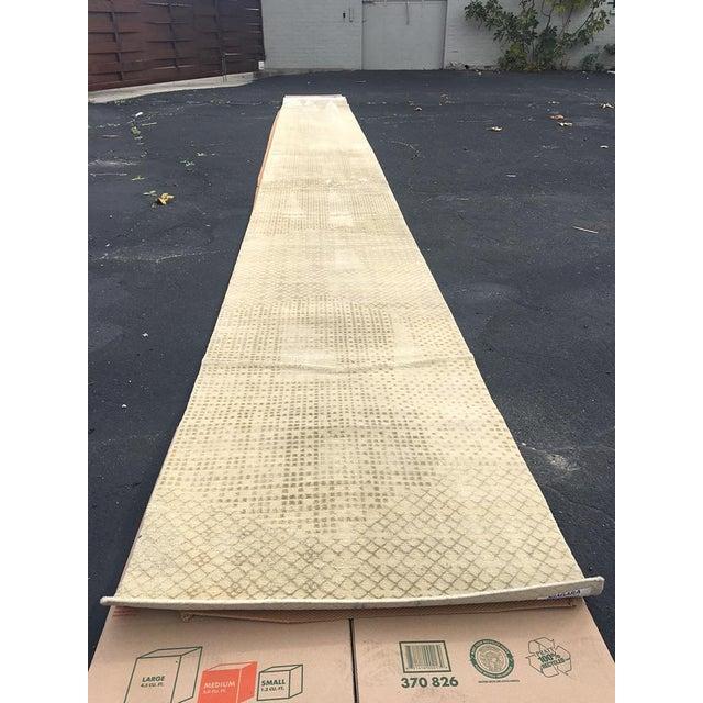 Beige Persian Wool Runner - 3′ × 30′ - Image 2 of 10