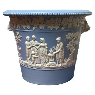 19th Century English Neoclassical Cachepot For Sale
