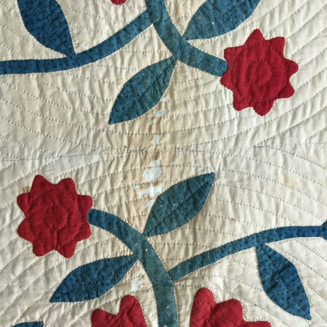 Vintage American Classic Quilt - Image 5 of 9