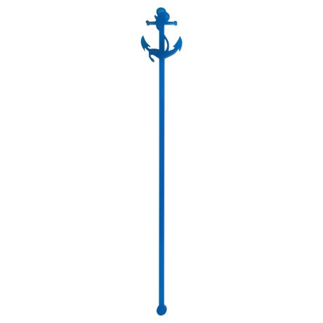 Blue Anchor Drink Stirrers - Set of 6 - Image 1 of 5