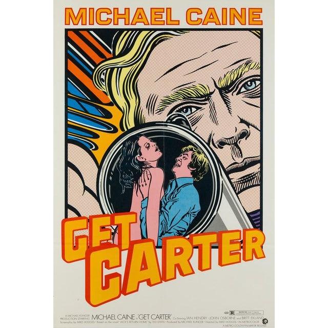 The super rare super amazing Hamersveld Get Carter poster. Wonderful Lichtenstein inspired pop artwork. One of our...