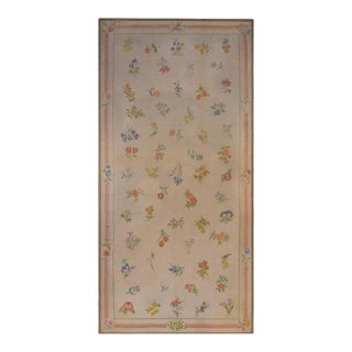 Vintage Chinese Aubusson Rug For Sale