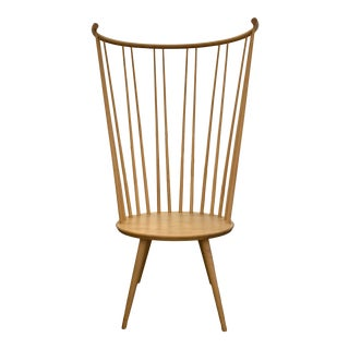 "Swedish Oversized ""Windsor"" Chair For Sale"
