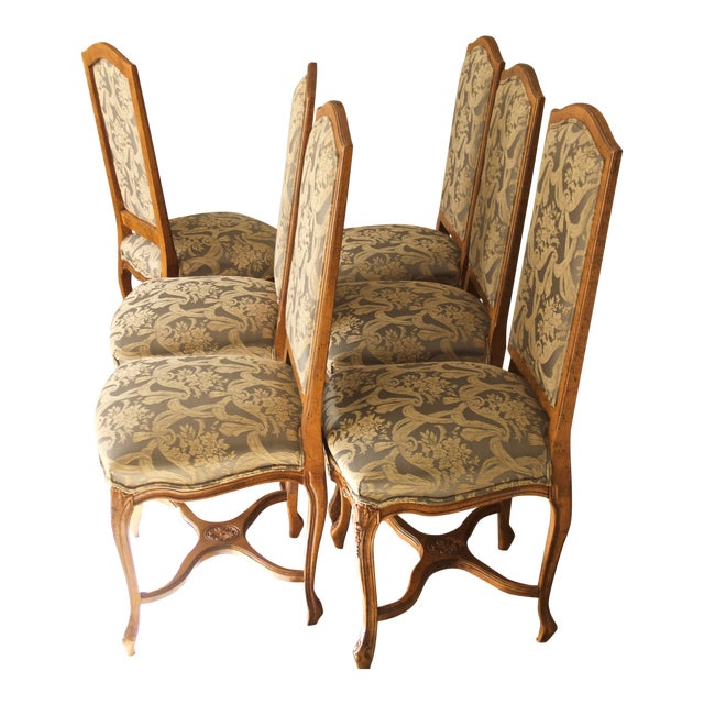 1990s Vintage Fairfield Dining Chairs - Set of 6 For Sale