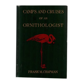 """1908 """"Camps and Cruises of an Ornithologist"""" Collectible Book For Sale"""