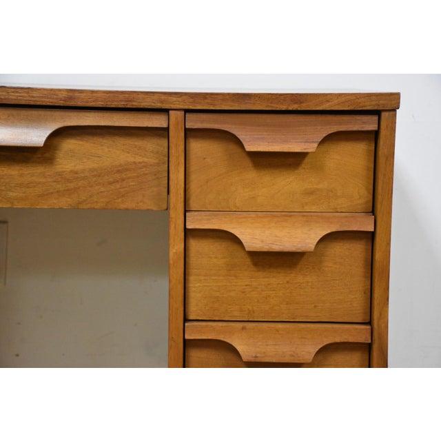 Johnson Carper Walnut & Formica Desk - Image 7 of 9