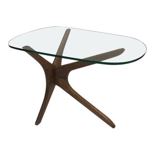 Adrian Pearsall Tri-Symmetric Occasional Table For Sale
