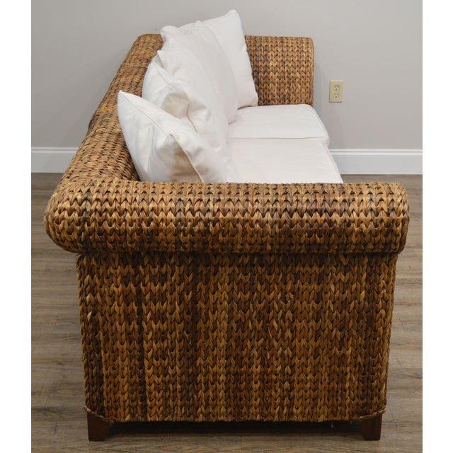 2000 - 2009 Pottery Barn Seagrass Sectional Sofa For Sale - Image 5 of 13