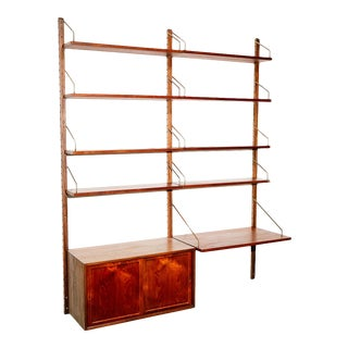 'Royal System' 2-Bay Wall Unit by Poul Cadovius For Sale