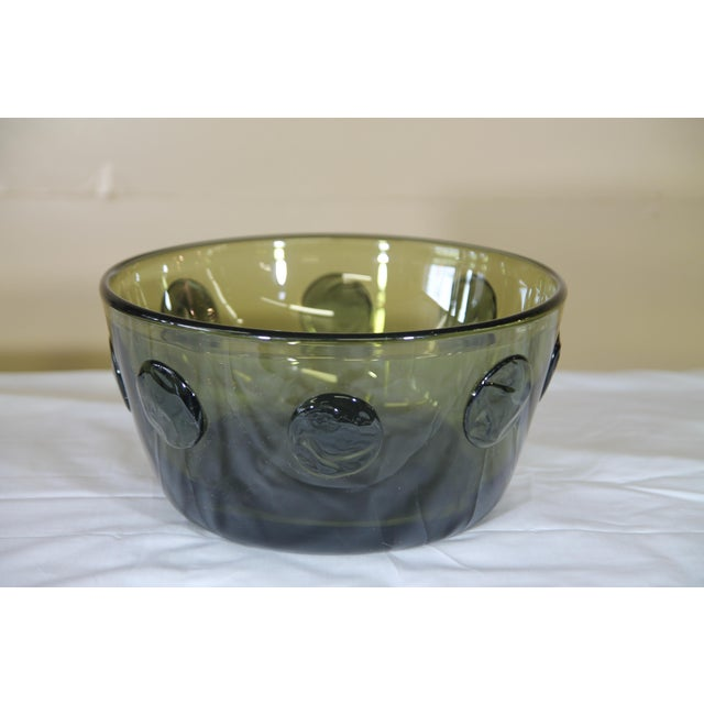 1960s Rare Severin Broby Bowl for Hadeland For Sale - Image 5 of 6