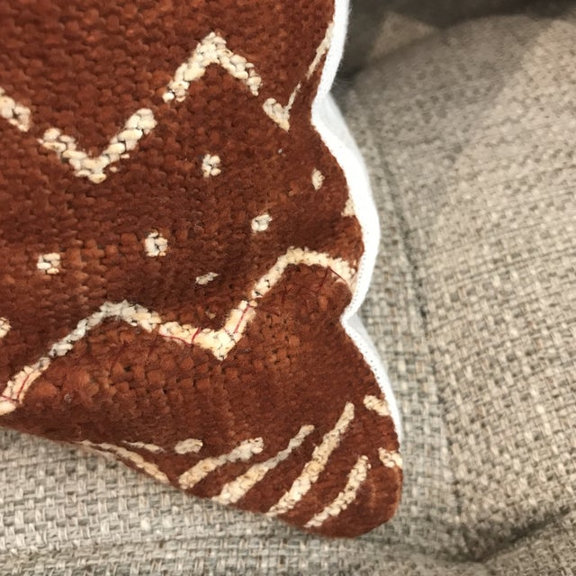 African Mudcloth Throw Pillow For Sale - Image 9 of 10
