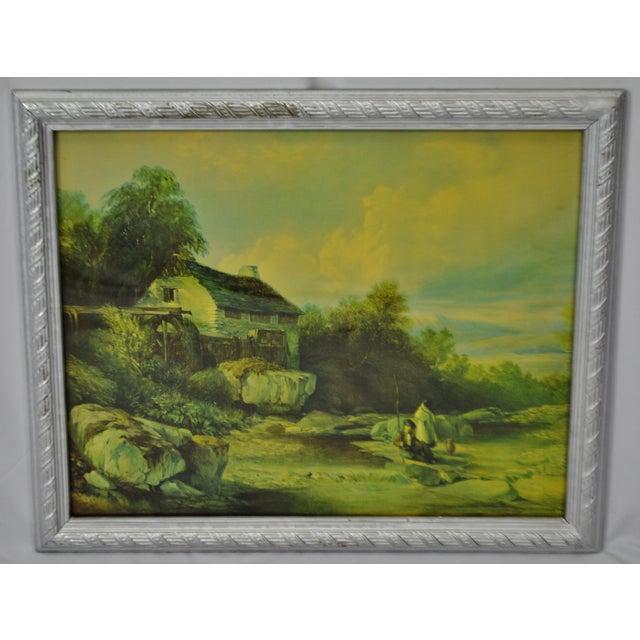 Vintage Framed Landscape Print by Muller For Sale - Image 12 of 12