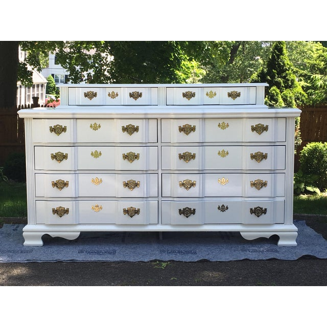 20th Century Superb Chippendale Pagoda Style Dresser For Sale - Image 11 of 11