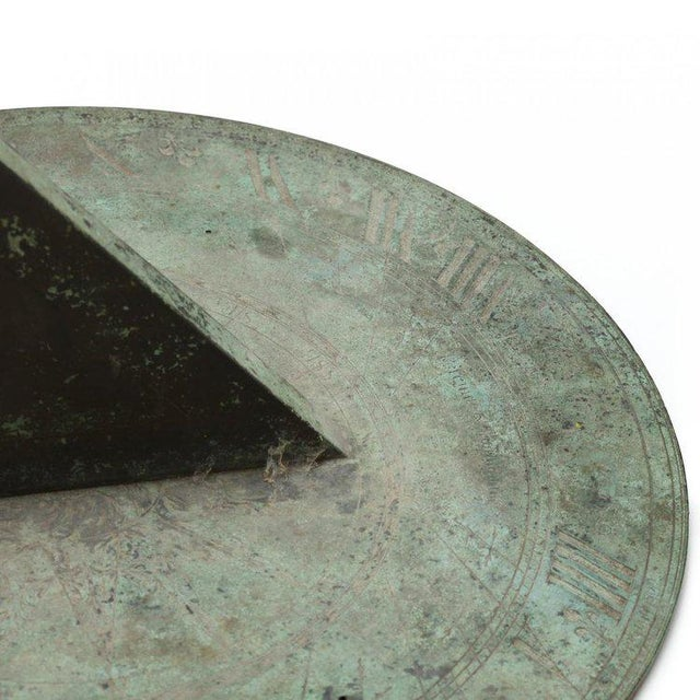 Mid 18th Century John Coggs (fl. 1718-1740): An 18-century Bronze Sundial For Sale - Image 5 of 9