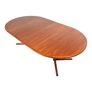 Mid Century Teak Dining Table by Niels Møller For Sale