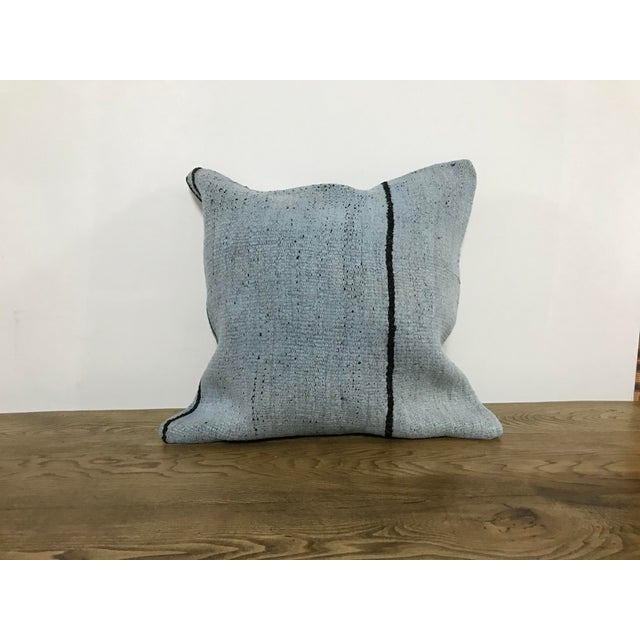Vintage Turkish Unique Kilim Pillow Cover For Sale In Phoenix - Image 6 of 6
