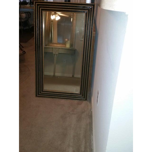 1940s Black & Gold Turner Mirror - Image 2 of 4