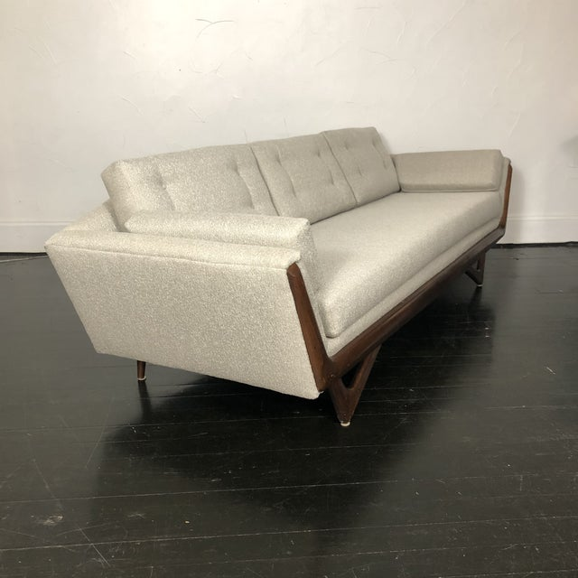 1960s 1960s Restored Adrian Pearsall Gondola Sofa For Sale - Image 5 of 13