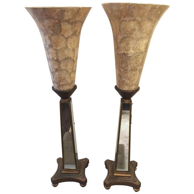 John Richard Torchere Lamps - a Pair - Image 1 of 6