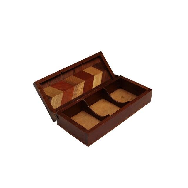 Herringbone Walnut Trinket Box - Image 4 of 4