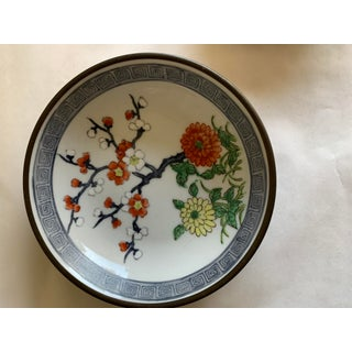 Midcentury Asian Chinoiserie Decor Trays Bowls Preview