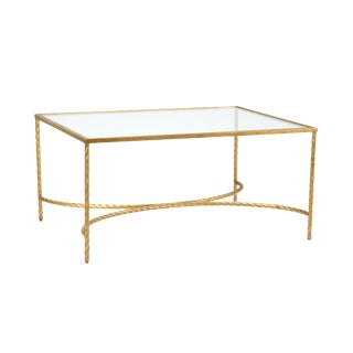 Chelsea House Inc Rope Cocktail Table For Sale
