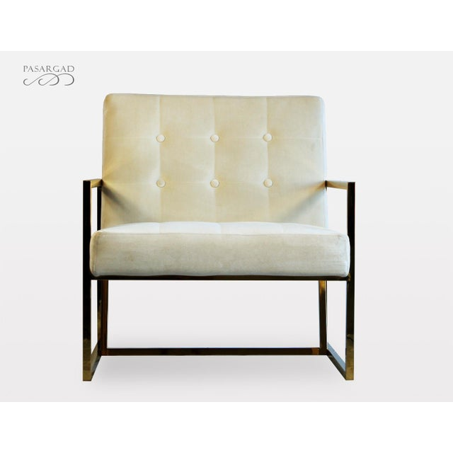 2010s Pasargad DC Millan Collection Leisure Chair For Sale - Image 5 of 7
