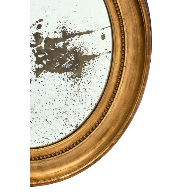 Louis XVI Period French Oval Mirror For Sale - Image 9 of 10