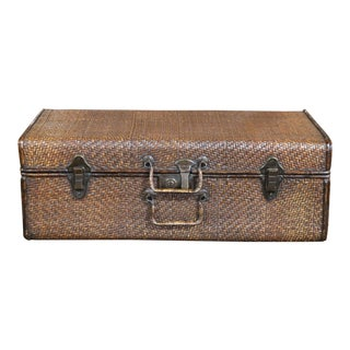 Rattan Suit Case For Sale