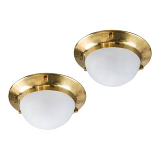 1960s Luigi Caccia Dominioni Large 'Tommy' Wall or Ceiling Lights for Azucena