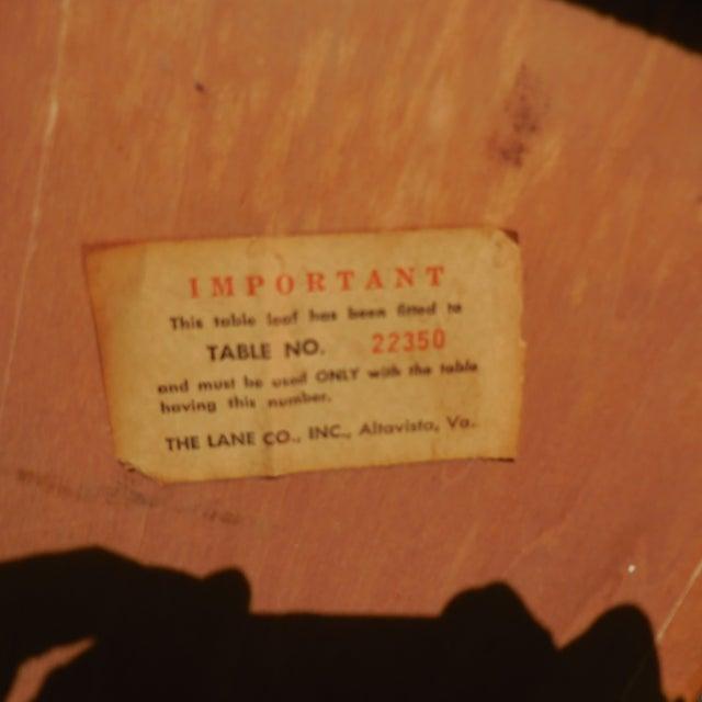 Mid-Century Lane Wood Dining Set - Image 9 of 9
