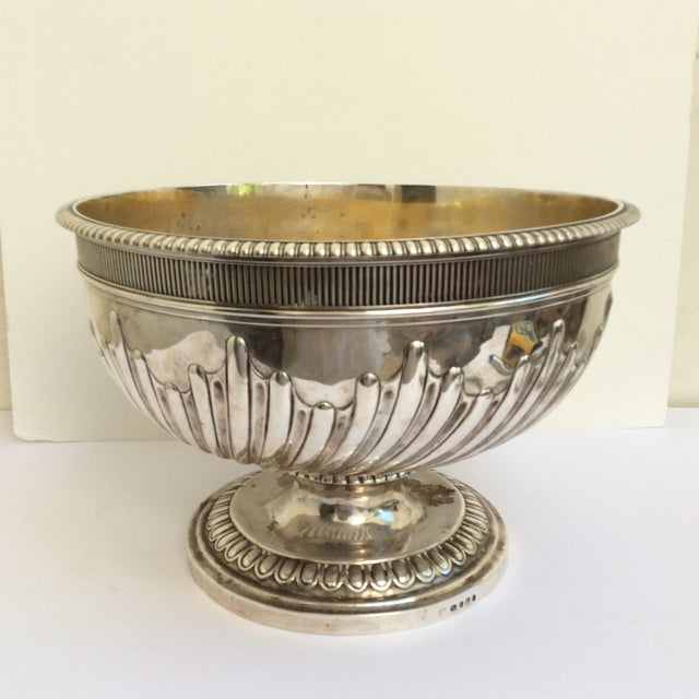 Great antique English Punch Bowl or wine cooler made in England circa 1800. This has engraved railroad commission...