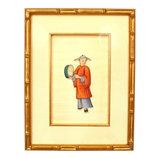Chinese Gauche Traditional Figure Paintings For Sale