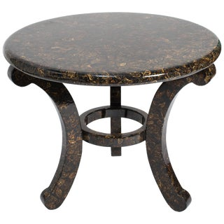 1980s Enrique Garcel Lacquered Table For Sale