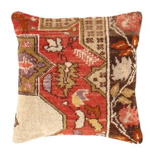 Pasargad Hand-Knotted Rug Pillow For Sale