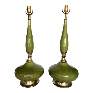 Mid-Century Phil Mar Sandel Genie Lamps-A Pair For Sale