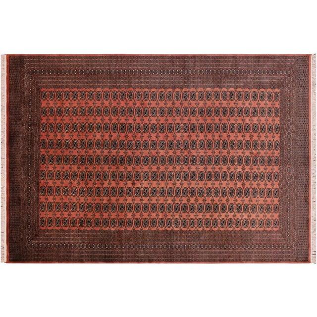 Bokara Arya Leon Rose & Black Wool Rug - 9'4 X 11'11 For Sale - Image 9 of 9