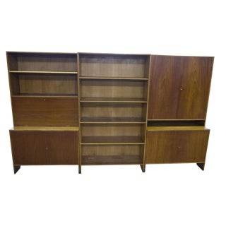Hans Wegner Teak Oak Wall Unit